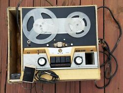 Vintage Rca Victor Orthophonic High Fidelity Tape Recorder Reel To Reel