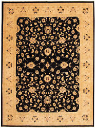 Hand-knotted Carpet 10and0390 X 13and0395 Traditional Vintage Wool Rug...discounted