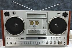 National Rx-7200 Radio Cassette Recorder