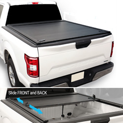 2014-2021 Chevy Colorado 6ft Cab Box Truck Bed Hard Retractable Tonneau Cover