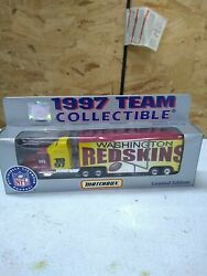 Redskins Team Collectables Matchbox 1997 Limited Edition Tractor Trailer