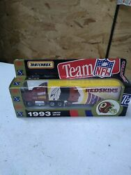Redskins Team Collectables Matchbox 1993 Limited Edition Tractor Trailer