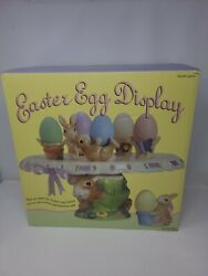 Easter Egg Display Cake Stand Egg Holders Bunny With Eggs Costco Gorgeous Ite