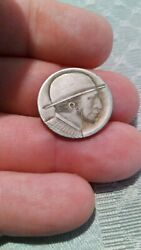 Hobo Nickel Carved By Owen Covert From My Personal Collection E