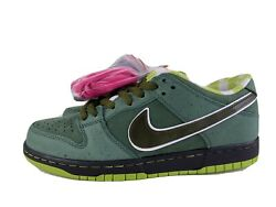 Nike Sb X Concepts Green Lobsters Dunk Low Us Men's Size 8.5 Special Box