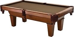 Fat Cat Frisco 7.5andrsquo Pool Table With Oak Finish And Bronze Colored Cloth