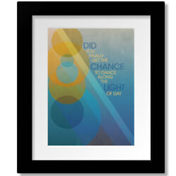 Drops Of Jupiter By Train - Song Lyric Inspired Music Art Print Canvas Or Plaque