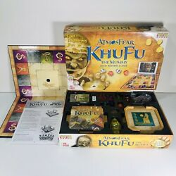 Atmosfear Khufu The Mummy Dvd Board Game Contents Sealed