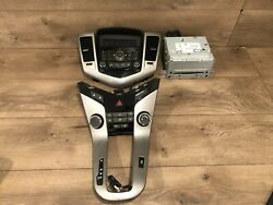 2011_2016 Chevy Cruze Front Cd Monitor Radio Player Stereo Climate Control Oem