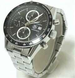 Tag Heuer Carrera Chrono Automatic Cv2010-4 Date Chronograph Menand039s Watch Wl28567