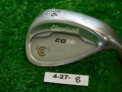 Cleveland Cg16 Tour Satin Chrome 56 14 Sand Wedge Traction Steel