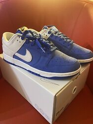 """Nike Dunk Low By You 365 Royal """"kentucky"""" Size Us 10 New"""