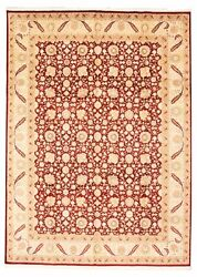 Vintage Hand-knotted Carpet 9and0390 X 12and0396 Traditional Oriental Wool Area Rug