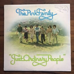 The Pink Family - Just Ordinary People Lp Vinyl Record Nz Gospel Disco 1979 Rare