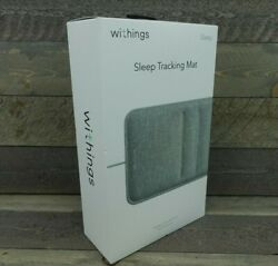 Withings Sleep Mat With Heart Rate Tracking And Health Report - Wsm02-all-us - New