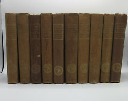 George Bancroftand039s History Of The United States 10 Volumes Complete First Edition