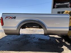 Rust Free 11-16 Ford Superduty 8andrsquo Box New Take Off Super Duty Long Bed Silver
