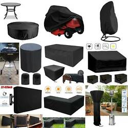 Heavy Duty Waterproof Patio Outdoor Furniture Lounge Chair Seat Cover Durable