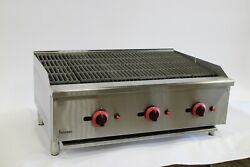 Infernus Char Broiler Gas 90 Cm /flame Grill / New / Lpg Or Nat Gas