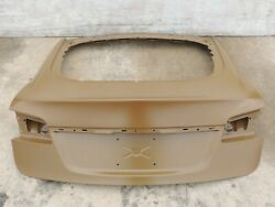 2012-2015 Tesla Model S Rear Trunk Boot Tailgate Lid Hatch Cover Factory -6-a