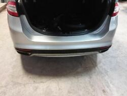 13 14 Ford Fusion Rear Bumper Cover W/o Park Assist Two Exhaust Cut-outs