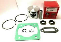 Pioneer P62, P61, P60 Piston Kit, 57.15mm With Cylinder Exhaust Gaskets And Seals
