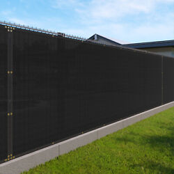 Customize 6and039 Ft Privacy Fence Screen Black Commercial Shade For Patio 161-320 Ft