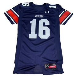 Authentic Under Armour Auburn Tigers Football Jersey #16 NCAA College Men M $50.00