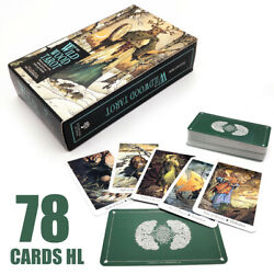78 The Wild Wood Tarot Cards Forecasting Deck Vintage Antique Cards Box Game