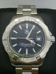 Tag Heuer Aquaracer Hayman Automatic Date Menand039s Watch Wl28636