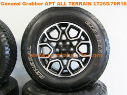 '21 Ford F-150 Appearance Package 18 New Takeoff Wheels And Tires Set Of 4