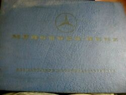 Mercedes Benz 230sl Factory Spare Parts List Book 10126 Edition C From 1967