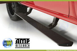 Amp Research Powerstep Retractable Running Boards Power Steps For 2007-17 Tundra