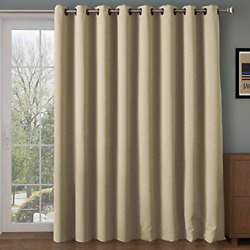 Rose Home Fashion Room Divider Curtainblackoutandthermalandthick 108 Inches Long