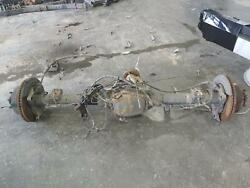 2013-2016 Ford F250 F350 Rear Axle Assembly 6.7l 3.55gear Electric W/abs/disc