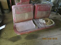 1961 62 63 64 Chevrolet Impala Ss 409 Front Bench Seat Look Nice