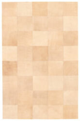 Handmade Cowhide Rug 4and03911 X 7and03910 Genuine Cow Skin Leather Carpet