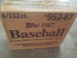 1987 Case Tradedandnbsp Sealed 6 Sets In Sealed Factory Case Box- Maddux