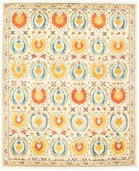 Modern Hand-knotted Carpet 10'0 X 14'2 Oriental Wool Area Rug