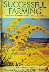 Successful Farming Magazine September 1935 Dairy Livestock Poultry