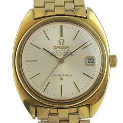 Omega Constellation Chronometer Automatic Date Vintage Men's Watch Wl28793