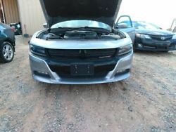 Front Bumper With Recessed Hood Line In Upper Cover Fits 15-18 Charger 3791899