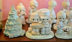 Lot Of 28 Pieces Of Precious Moments Figurines