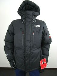 Mens The Himalayan Summit Down Hooded Insulated Winter Parka - Black
