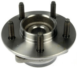 Axle Bearing And Hub Assembly Front Dorman 951-063 12 Month 12000 Mile Warranty