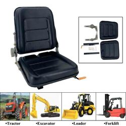 Waterproof Tractor Seat Riding Mower Seat Lawn Garden Slidable Fits Most Brands