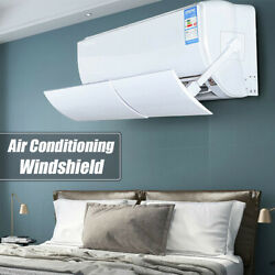 Air Conditioner Cover Windshield Conditioning Baffle Shield Adjustable Anti-wind