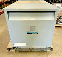 Opti Miser 75 Kva Transformer Used As Is Or Can Be Fully Reconditioned