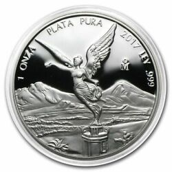 Sale Proof Libertad - Mexico - 2017 1 Oz Proof Silver Coin In Capsule