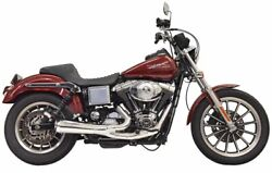Bassani 1d5c Ripper 2n1 Exhaust System Chrome Harley Dyna Fxdl 91-05